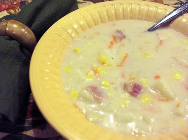 Creamy Chicken Corn Chowder
