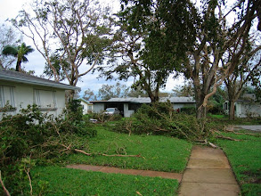 Photo: After Hurricane Wilma - 2005