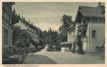 Photo: Wünschendorf im Erzgebirge  Sachsen  Hammermühle Neunzehnhain   Postkarte um1920