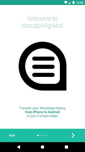 Screenshot for WazzapMigrator in Hong Kong Play Store