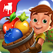 農場収穫パズルゲーム