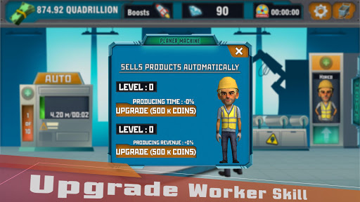 Factory Tycoon : Idle Clicker Game 0.4 screenshots 7
