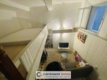 Studio meublé 19,3 m2