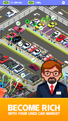 Used Car Dealer Tycoon apklade screenshots 2