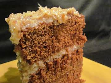 "Original Recipe for ""German Chocolate Cake"""