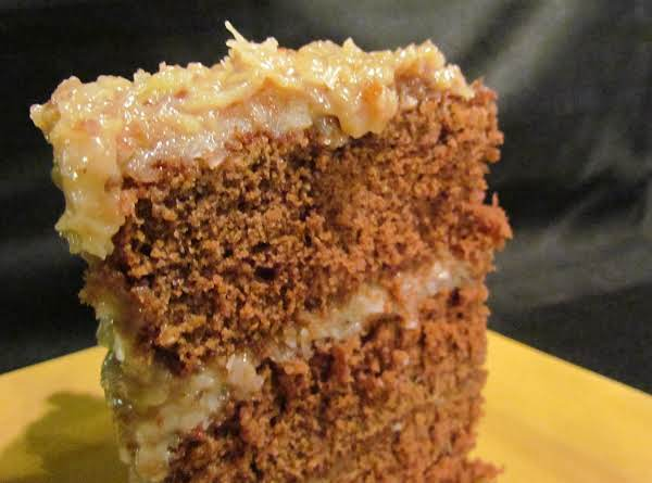 Original Recipe For German Chocolate Cake