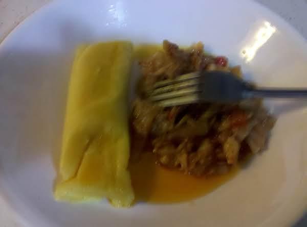 Cornmeal Dumplings And Stewed Cod