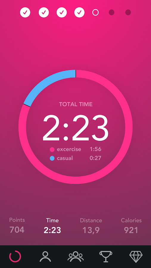 Fjuul - Healthy Activity, Workout & Fitness Coach- screenshot