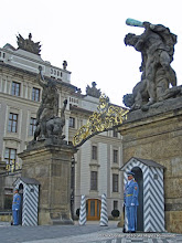 Photo: Prague Castle Gate Sentries