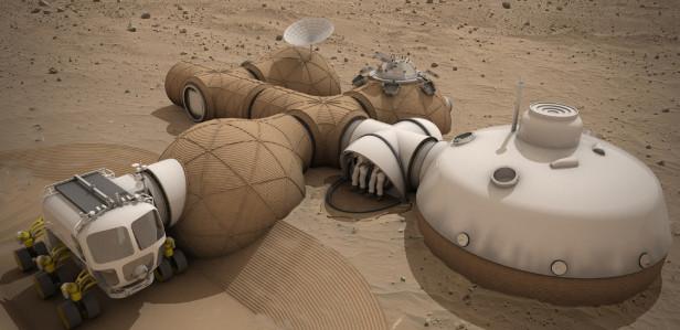 NASA объявило финалистов конкурса дизайна марсианских колоний