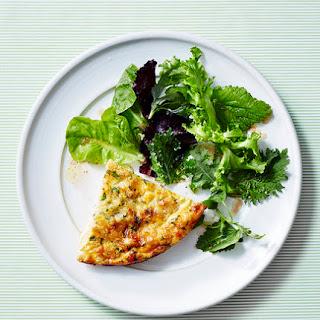 Roasted Cauliflower and Gruyère Frittata.
