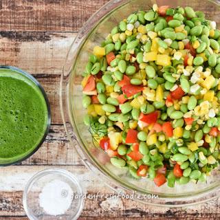 Edamame Salad With Herb Vinaigrette