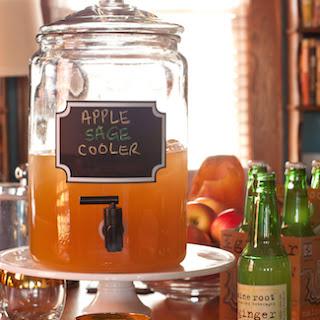 Apple Sage Cooler