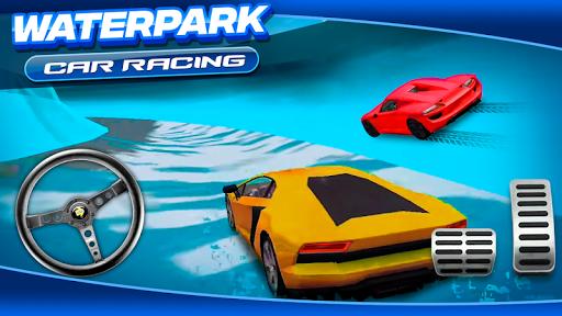 Waterpark Car Racing 1.0 screenshots 4