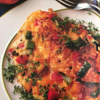 Ingredients Potato Pepper Omelet Recipe