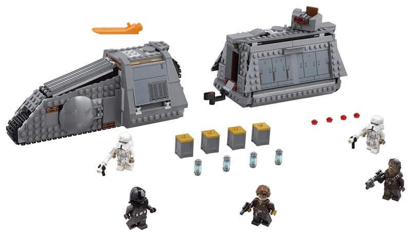 Contenido de Lego® 75217 Imperial Conveyex Transport™