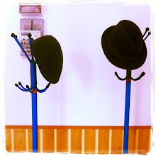 Photo: Two hats in the hall #intercer #hats - via Instagram, http://instagr.am/p/LhiBbDJftV/