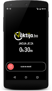Vaktija.ba- screenshot thumbnail