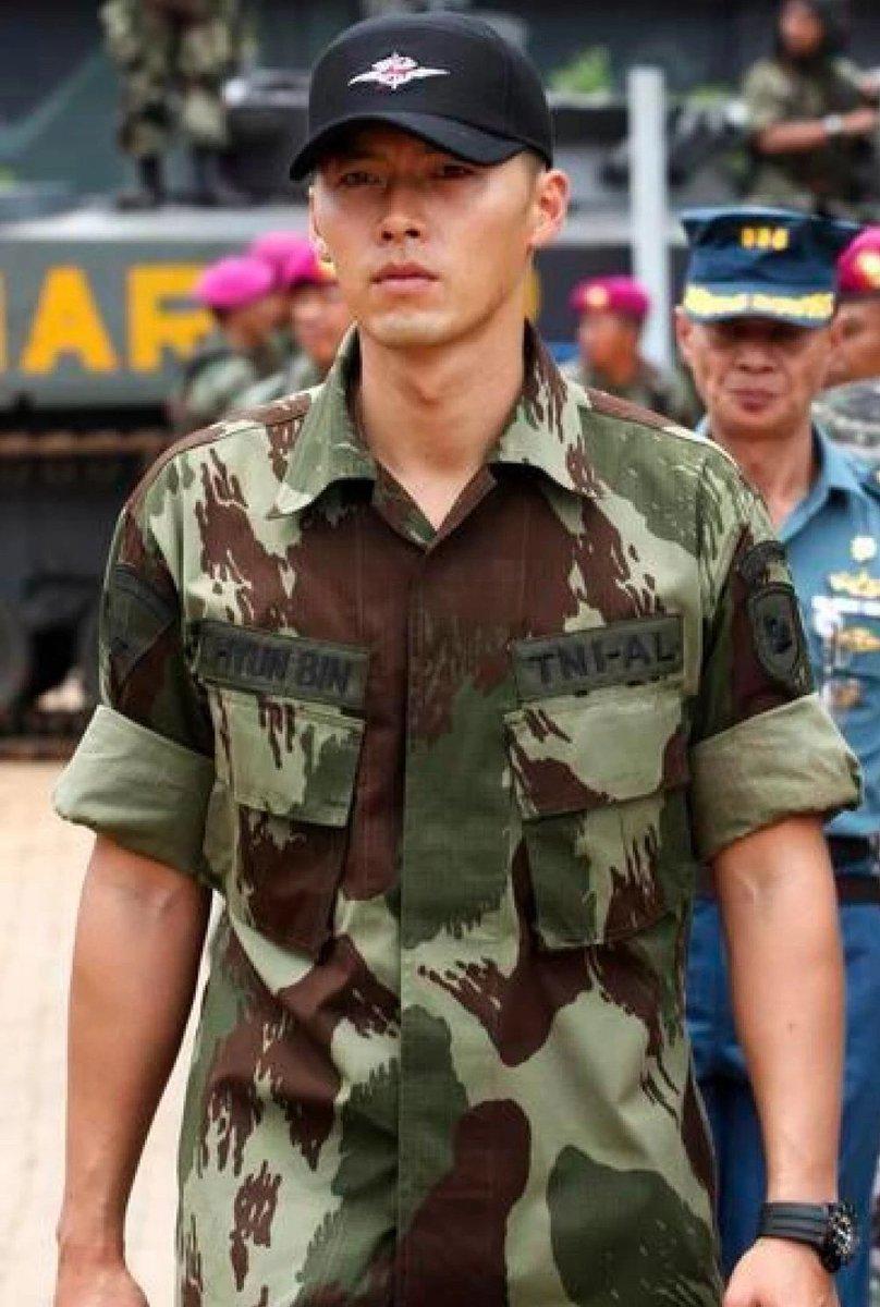 hyun bin military service