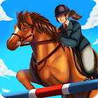 Horse World - Saut d'obstacles icon