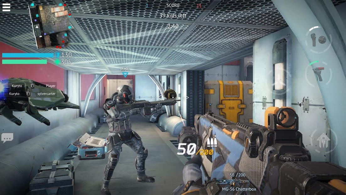 Infinity Ops: Online FPS Android App Screenshot