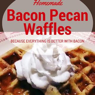 Bacon Pecan Buttermilk Waffles