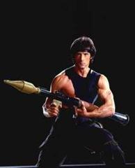 Sylvester-Stallone---Rambo-Photograph-C10102449