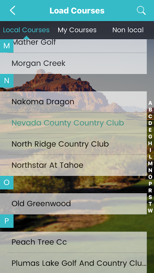 GoGolf GPS- screenshot