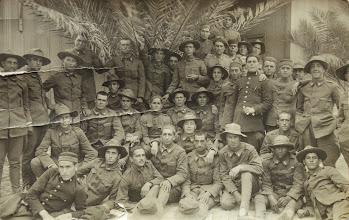 Photo: En la mili en África. Proveedor: Raimunda Bustillo. Año: 1926.
