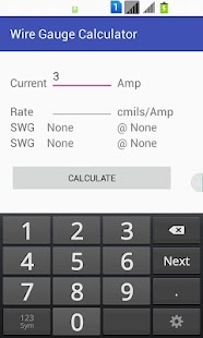 Wire gauge calculator android apps on google play wire gauge calculator screenshot thumbnail wire gauge calculator screenshot thumbnail greentooth Image collections