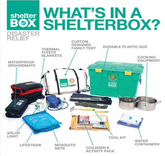 ShelterBox | Rotary Club of Elk Grove Village