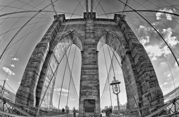 Brooklyn Bridge di Andrea Izzotti