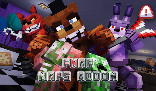 Maps FNaF & Addon for Minecraft 3.0 screenshots 1