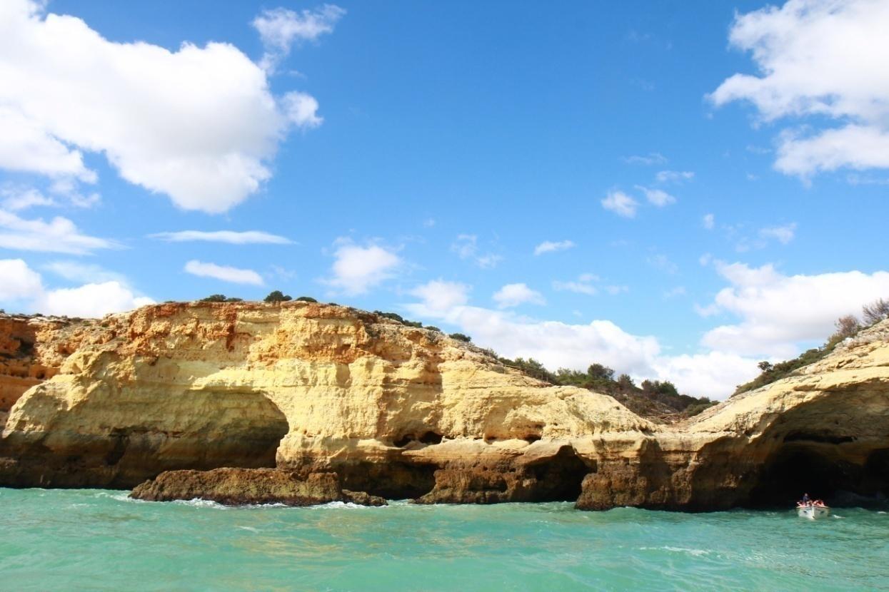 utes faro modra voda portugalsko