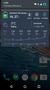 Battery Doctor- Weather Widget- screenshot thumbnail