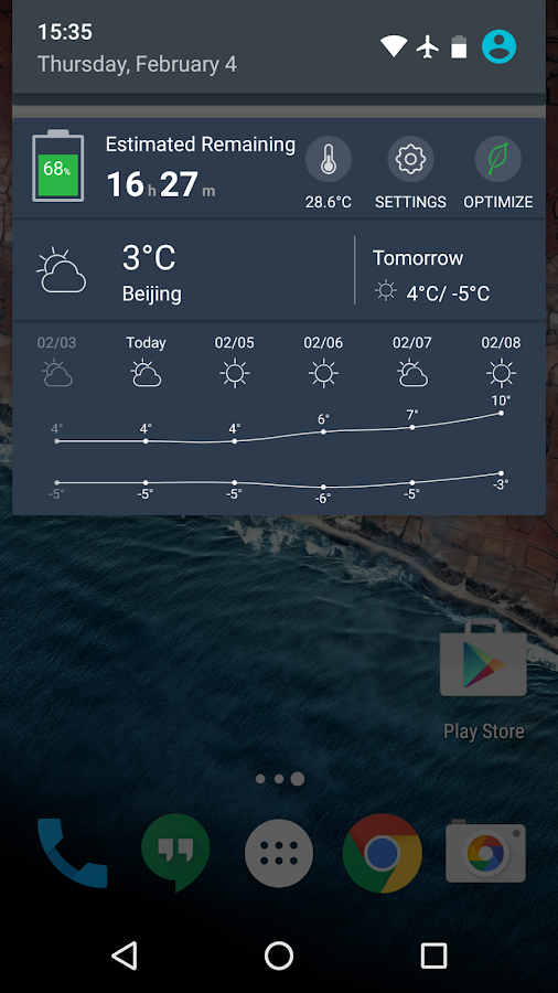 Battery Doctor- Weather Widget- screenshot
