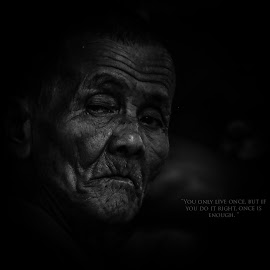 by Irvan Junizar - Black & White Portraits & People