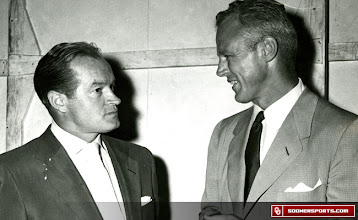 Photo: Wilkinson with Bob Hope.