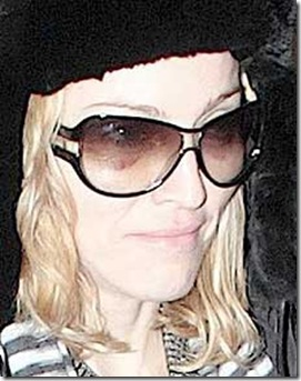 Madonna Black Eyes picture