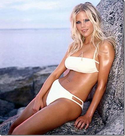Elin Nordegren Swedish model