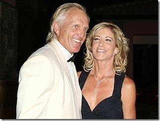 Greg Norman and Chris Evert picture