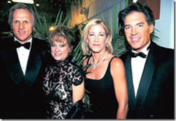 Chris Evert-Greg Norman Laura Andrassy picture