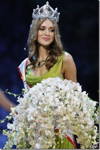 Ksenia Sukhinova , Miss Russia 2007 picture