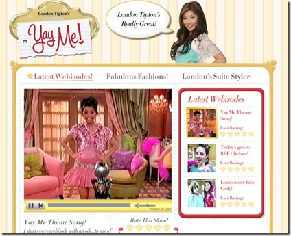 yay me staring london tipton picture