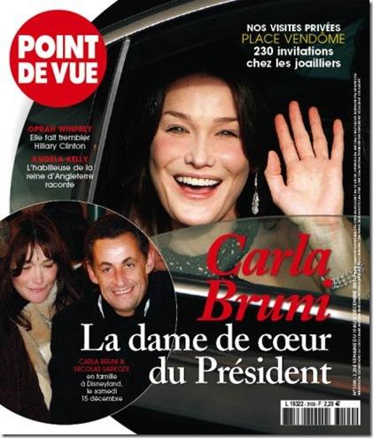 Nicolas Sarkozy Carla Bruni picture
