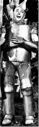 Tin Man from The Wizard of Oz