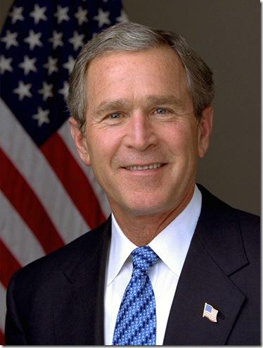 030114-O-0000D-001<br />President George W. Bush.  Photo by Eric Draper, White House.