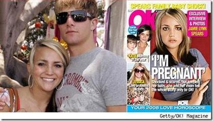 Jamie Lynn Spears Pregnant Ok magazine picture