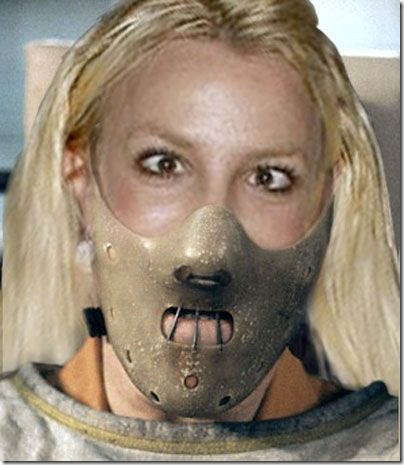 masked britney spears