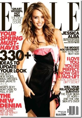 Jessica Alba covers EllE